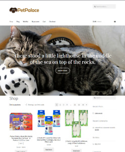Pet Supplies Drop Shipping Website Business For Sale Unlimited Stock