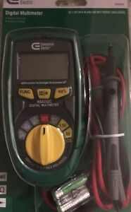 Comercial Electric 600 Vac Digital Multimeter 730696