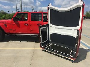 Jl Jeep Wrangler Hardtop Storage Cart New Product Hardtop Holder Hardtop Rack