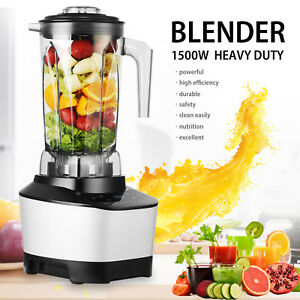 1500w 2l Commercial High Speed Blender Mixer Juicer Food Smooth Ice Cream