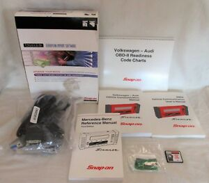 2002 Snap On Modis Mt2500 Scanner European Import Software Package New