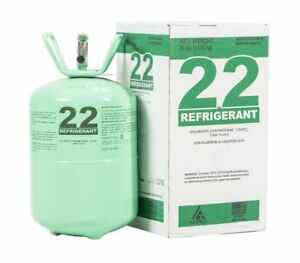 R 22 Refrigerant Sealed 30 Lb Cylinder Free Fast Shipping made In Usa