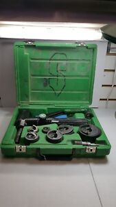 Greenlee 7904sb 7806sb 7804sb Quick Draw 90 Hydraulic Punch Driver 16251 1