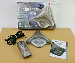 Polycom Voicestation 100 Professional Conference Phone Big Sound For Small Rooms