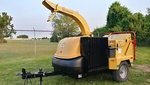 2005 Vermeer Bc1400xl Chipper Only 981 Hours Pristine Condition