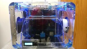 Airwolf Hd2x 3d Printer With 11 Spools Of 3mm Filament abs Pla