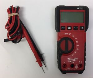 Milwaukee Trms True Rms Digital Multimeter 2216 20 Handheld Tool
