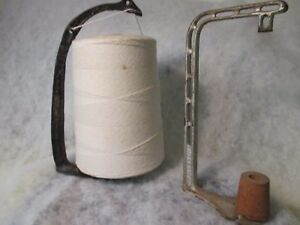 Old Department Store Twine Spool Holders