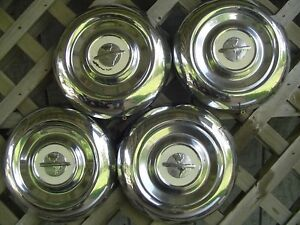 54 55 Oldsmobile Custom Cruiser Jetstar Starfire Rocket Holiday Fastback Hubcaps