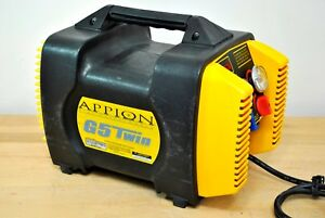 Appion G5 Twin Refrigerant Recovery Machine R410a R 134a R 22 And R 407c