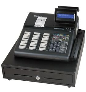 New Sam4s Er 925 Cash Register Ms9520 Scanner sw 20 Scale Combo Package