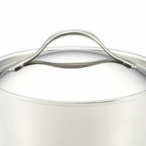 Pemberly Row Copper Stainless Steel Sauce Pan