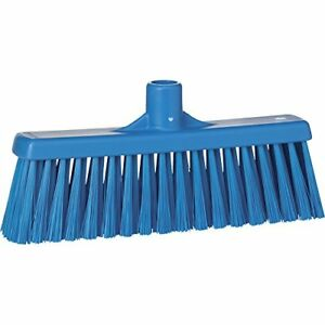 Vikan 31663 Medium Sweep Floor Broom Head Polypropylene Block 12 1 4 Bristle