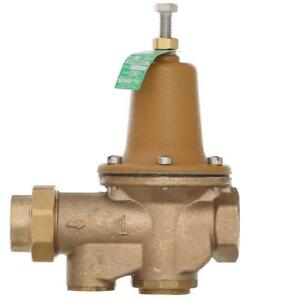 1 In Lead free Brass Fpt X Fpt Water Pressure Reducing Valve
