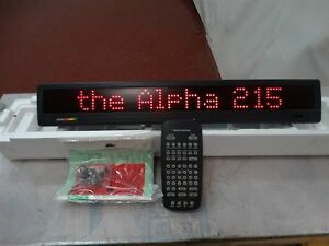 Programmable Sign Adaptive Micro Systems Alpha 215