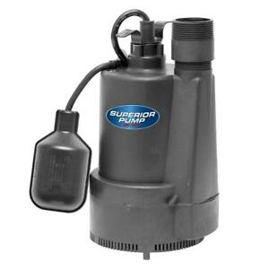 1 3 Hp Submersible Thermoplastic Sump Pump