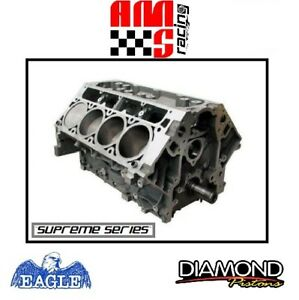 Ams Racing Forged Supreme Series 416 Ci Ls3 Short Block W Diamond Pistons