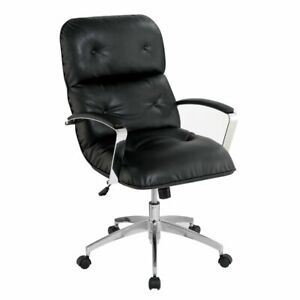 Furniture Of America Vernon Contemporary Office Chair In Black
