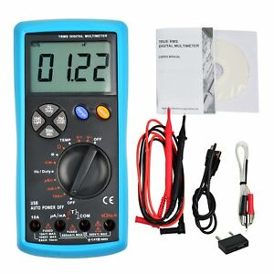 Multimeter Dmm True Rms Trms Auto ranging W Usb Interface Multi Meter Tester