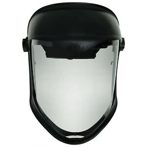 Face Shield Clear Visor Anti fog Hard Coat Safety Headgear Head Mask Protection