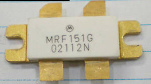 1 X Motorola Mrf151g Power Mosfet N channel Transistor