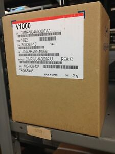 Yaskawa 5hp 8 8 Amps V1000 Vfd Cimr vu4a0009faa Variable Frequency Drive Nib