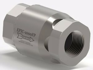 1 Epic Female Pipe Stainless Steel Check Valve epic 1000fp