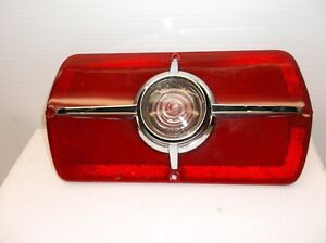 1965 65 Fairlane Original Taillight Lens Extremely Nice