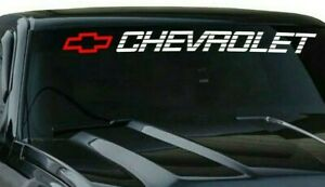 Chevy Bed Tailgate Sticker Decal Silverado Tahoe Bow Window Decal 50x4