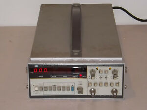 Hp Agilent 5316a 100mhz Universal Counter Dual Input With Hp ib Interface