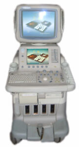 Ge s Logiq 7 Ultrasound Machine With Probes In Excellent Condition