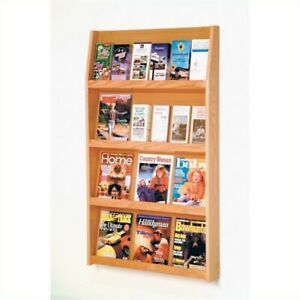Scranton Co Literature Holder In Light Oak