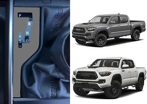 Cement Grey Shift Indicator Vinyl Overlay For 2016 2018 Toyota Tacoma New Usa