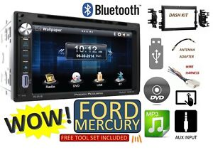 2005 2015 Ford F250 350 450 550 Touchscreen Cd Dvd Usb Aux Bluetooth Car Stereo
