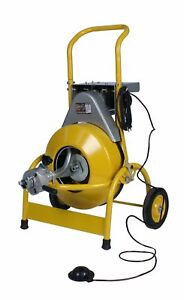 Steel Dragon Tools 1000 Drain Cleaning Machine With 1 2 X 75 Inner Core Cable