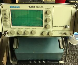 Tektronix 1503b Metallic Cable Tester Tdr