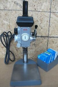 Servo Model 7000 Precision Drill Press W drills