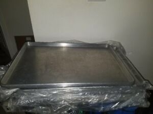 Commercial Aluminum Baking Sheet Tray 2 25 1 2 X 17 3 4