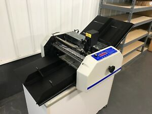 Graphic Whizard 6000 Numbering Perforating Scoring Machine Fully serviced