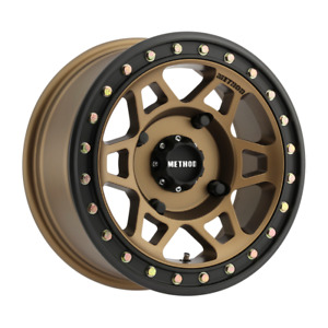 Set 4 14x7 38 4x156 Method Mr405 Utvbeadlock Bronze Wheels Rims 14 Inch 51681