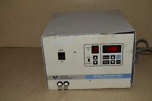Unitek Equipment Dual Pulse 125 Stored Energy Power Supply Resistance Welder
