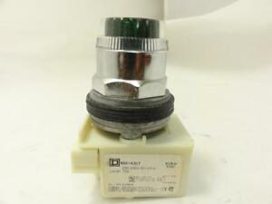 156044 Old stock Square D 9001k1l7g Pushbutton Switch 220v Green
