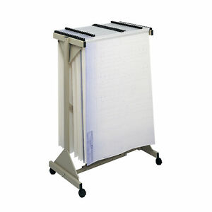 Vertical File Systems Tropic Sand Heavy gauge Steel Mobile Plan Center