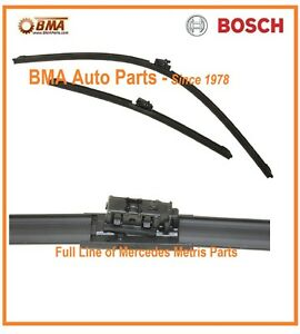 New Bosch Oem Mercedes Metris Wiper Blade Set 2016 2018 4478205400 3397014179