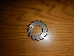Involute Gear Cutter B s Co 1 36 Dp 135 To Rack