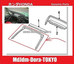 Oem Front Pillar Weather Strip Honda Jdm Cr x Del Sol Eg2 Genuine Part