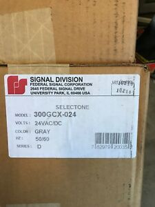 Federal Signal Corp Selectone Signal Speaker For General Service 300gcx 024