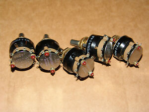 Grayhill Rotary Switches 42yy23654 1 ajn 9 Position Single Pole Nos lot Of 5