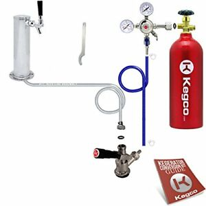 Kegco Bf Stck 5t Standard Tower Kegerator Conversion Kit With 5 Lb Co2 Tank