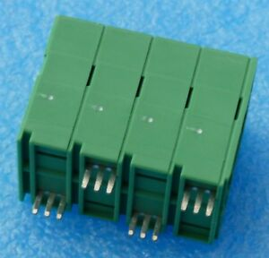 Lot Of 12 Phoenix Contact 1735891 4 Position Wire To Board Terminal Block
